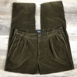Polo Ralph Lauren Vintage Pleated Corduroy Pants